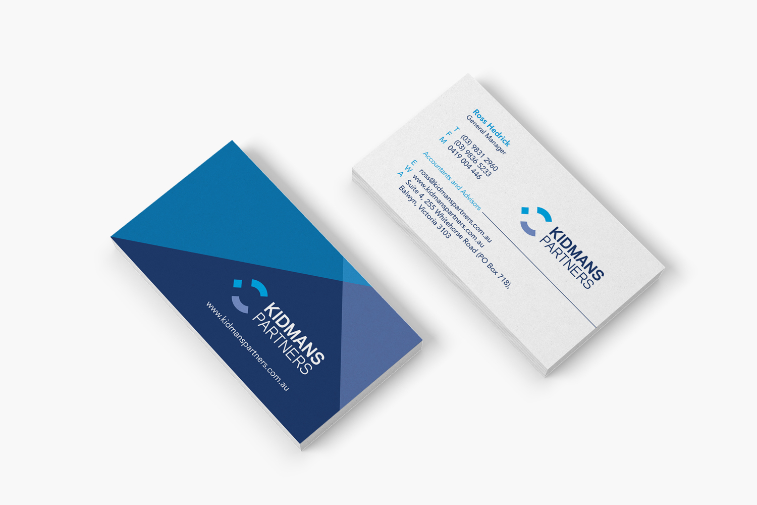 business-card-design-for-Kidmans-Partners